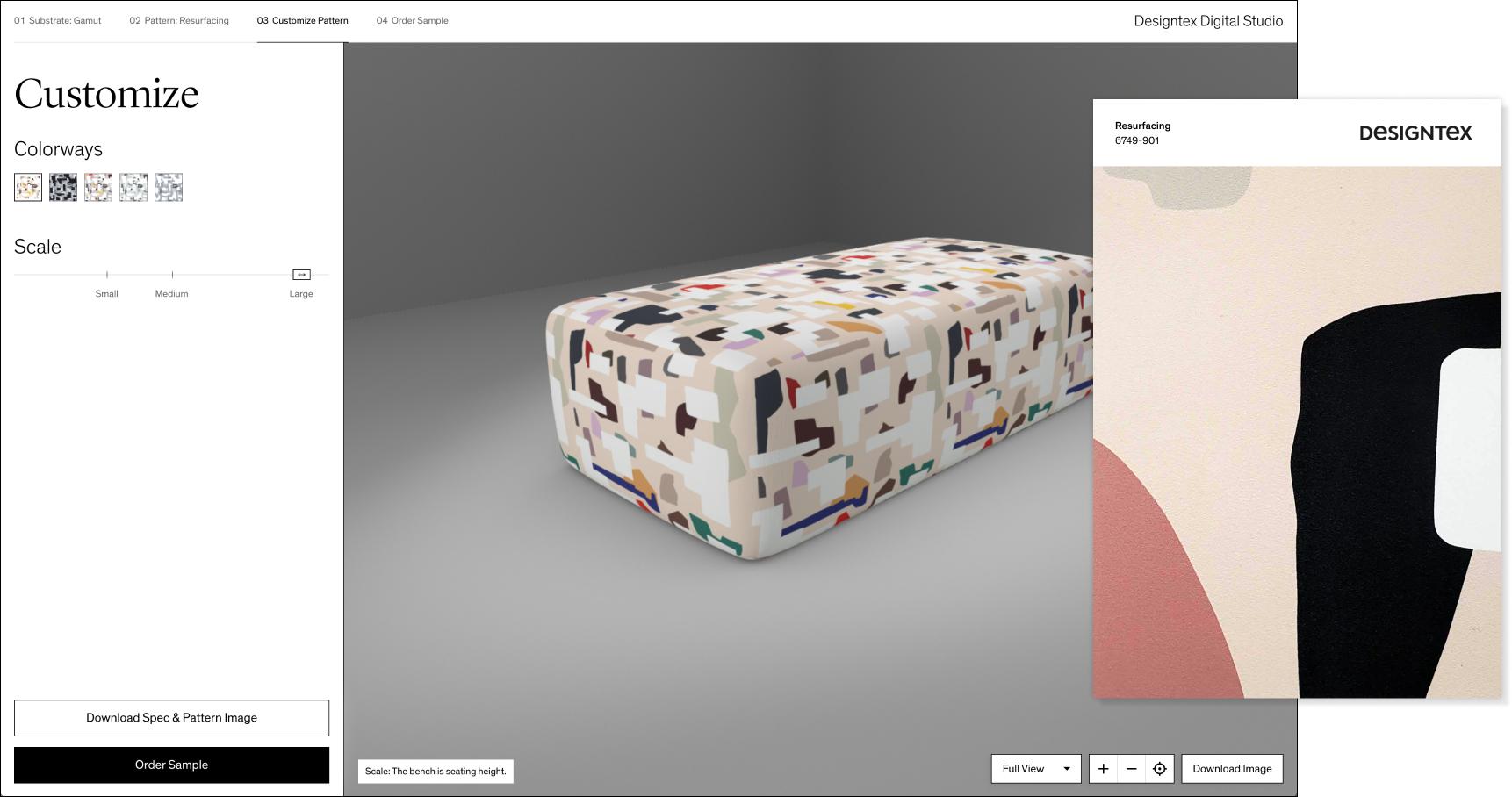 Designtex Digital Studio & Swatch