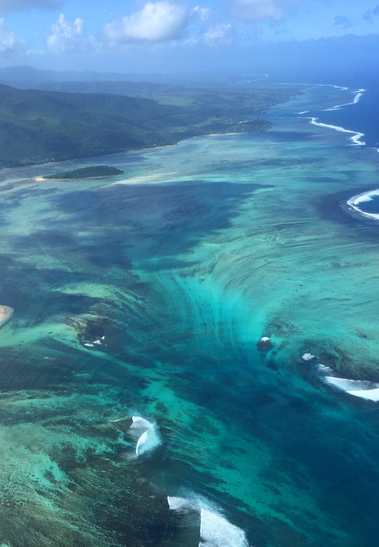 Mauritius (aerial view)
