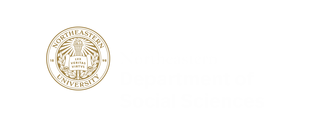 Northeastern Logo: Department of Social Sciences