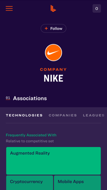 App Screen: Profile