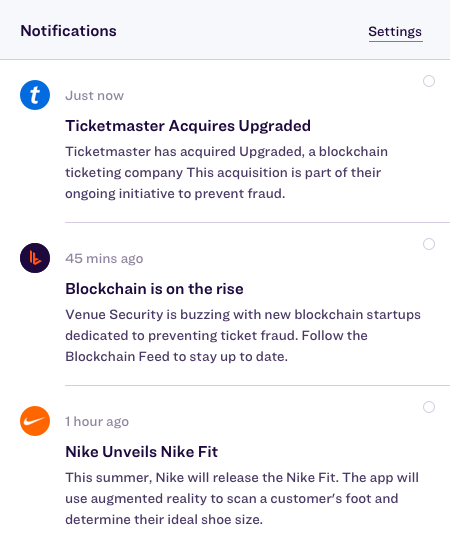 App Feature: Notifications