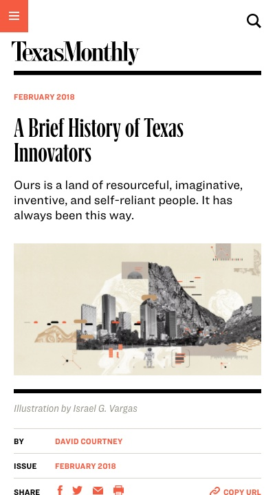 A Brief History of Texas Innovators