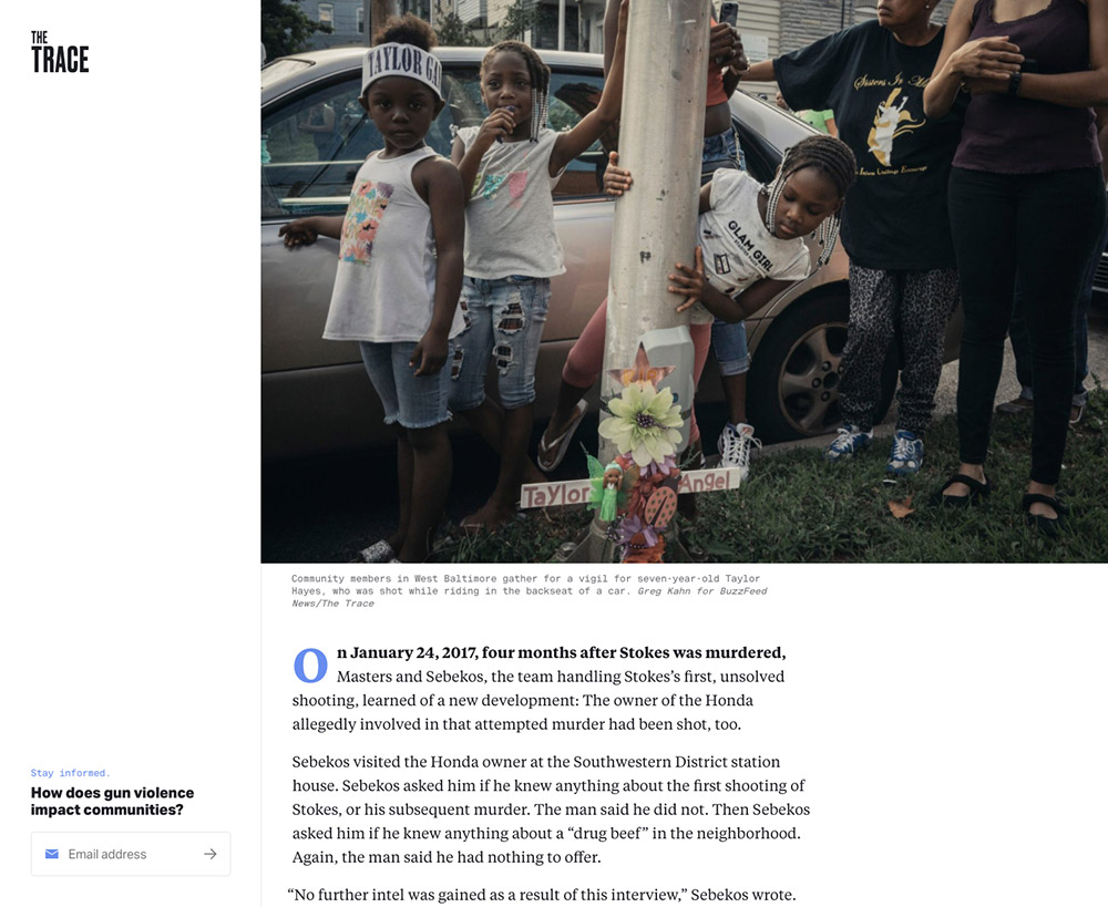 Article: Shoot Someone In a Major U.S. City, and Odds Are You'll Get Away With It