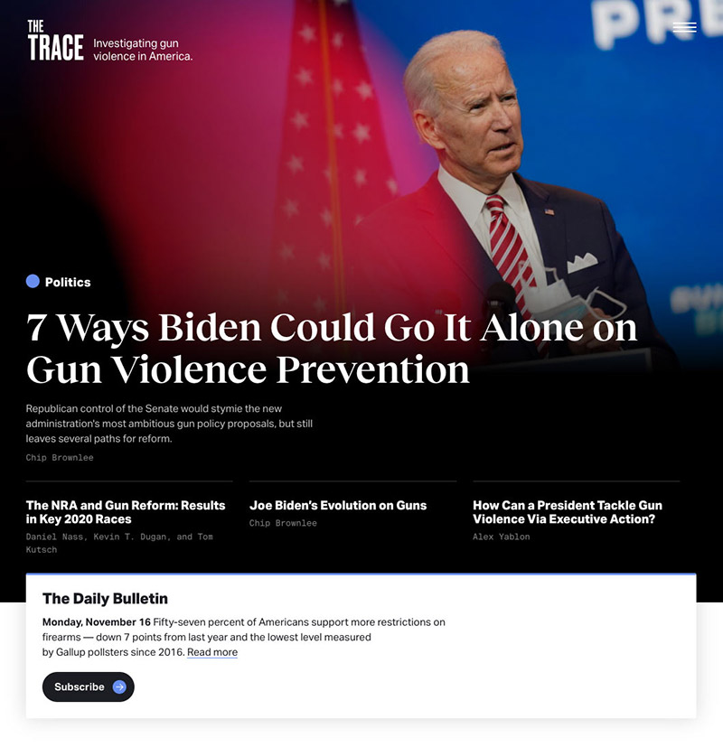 Homepage: New York Attorney General Sues to Dissolve the NRA