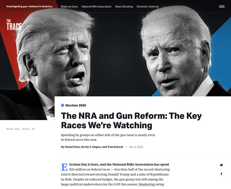 Article: The NRA and Gun Reform: The Key Races We're Watching