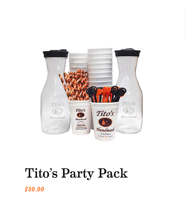 Tito's Party Pack