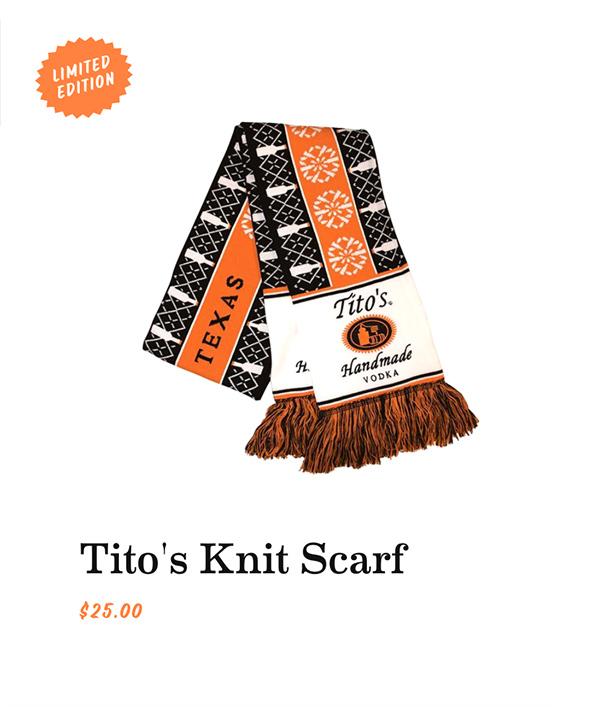 Tito's Knit Scarf