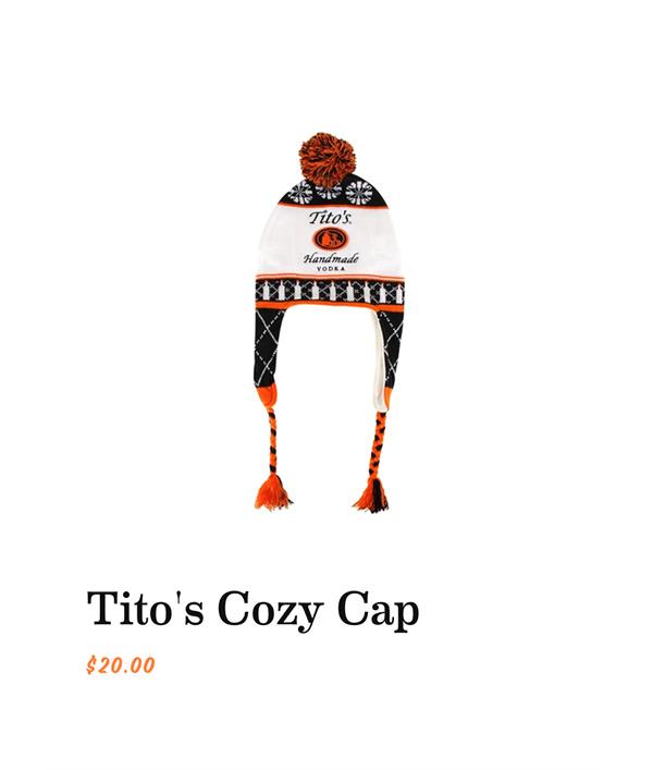 Tito's Cozy Cap