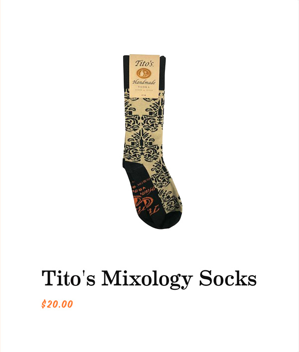 Tito's Mixology Socks