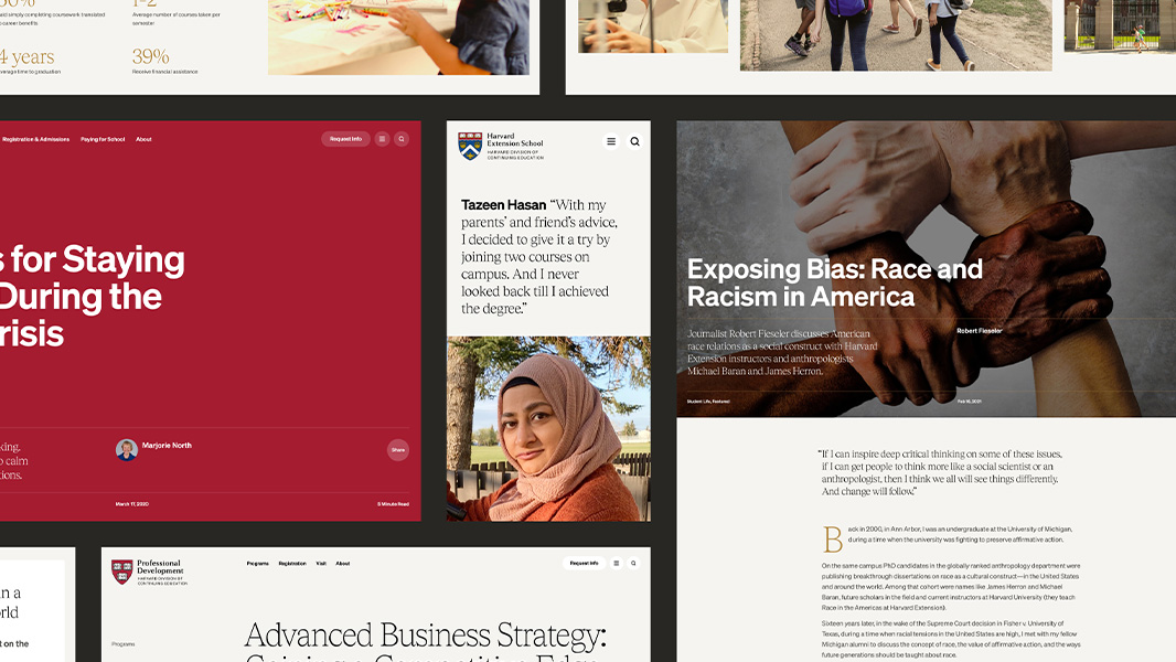Tease hover image for Harvard Division of Continuing Education