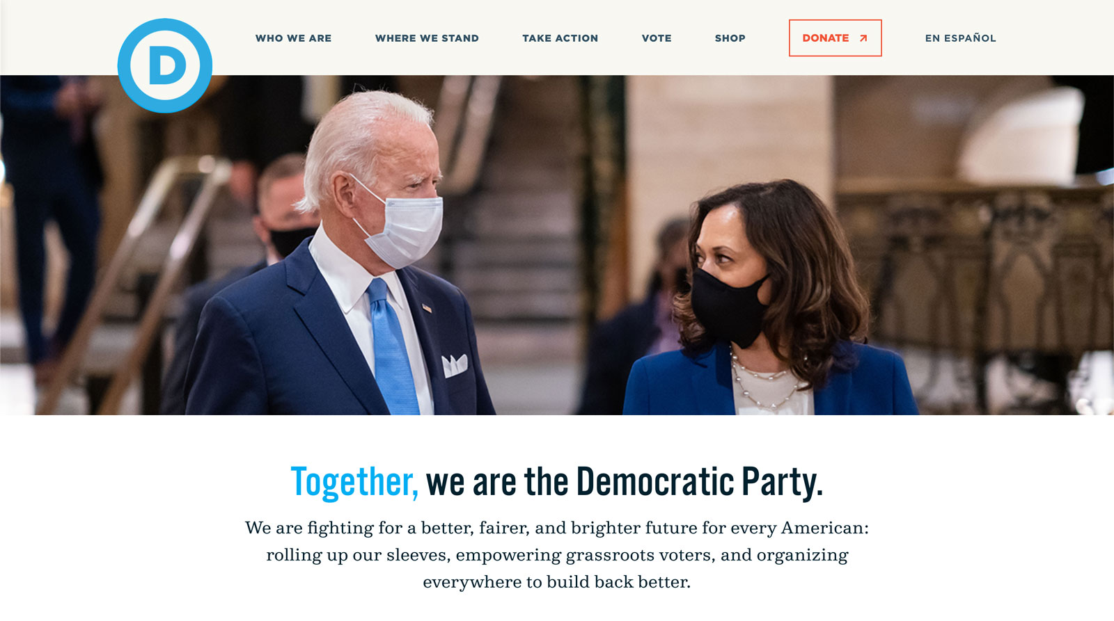 Tease image for Democrats.org