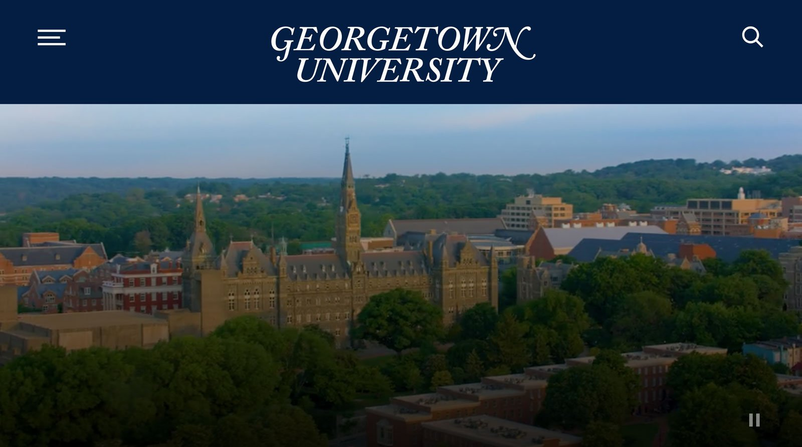 Tease image for Georgetown University