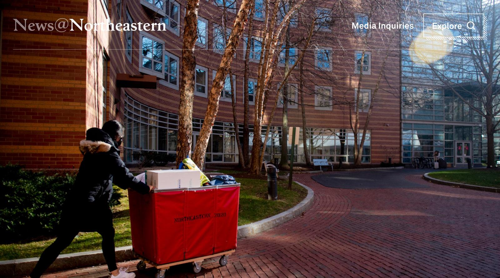 Tease image for Northeastern University