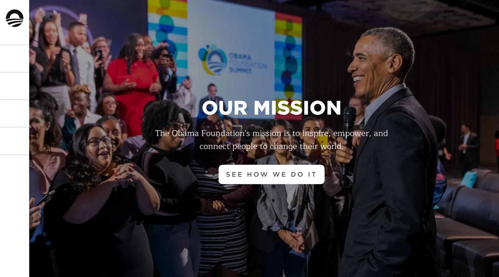 Tease image for The Obama Foundation