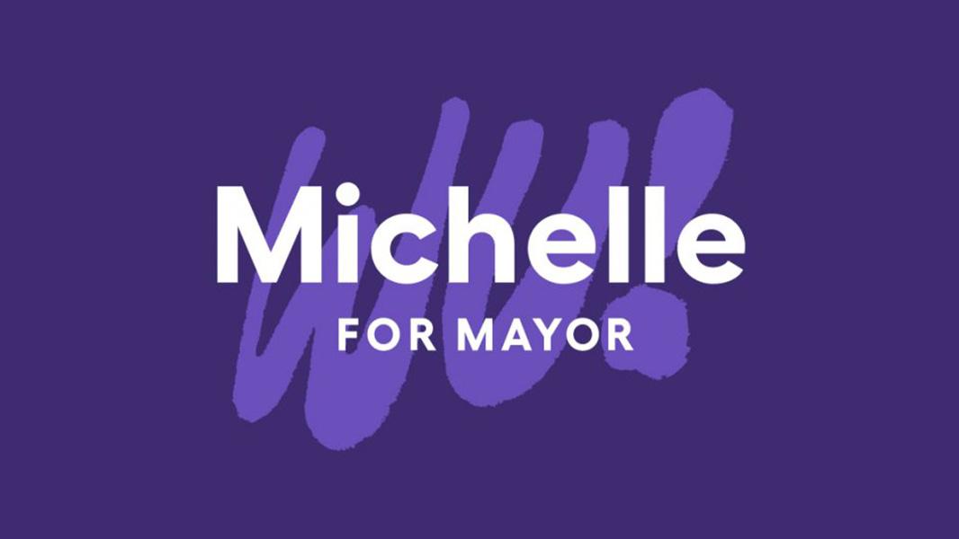 Michelle Wu for Mayor logo